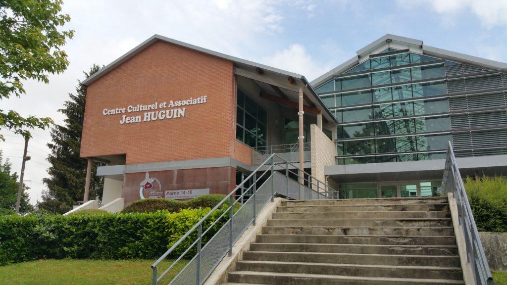 Bâtiments communaux : Salle des fêtes & associatif Jean HUGUIN