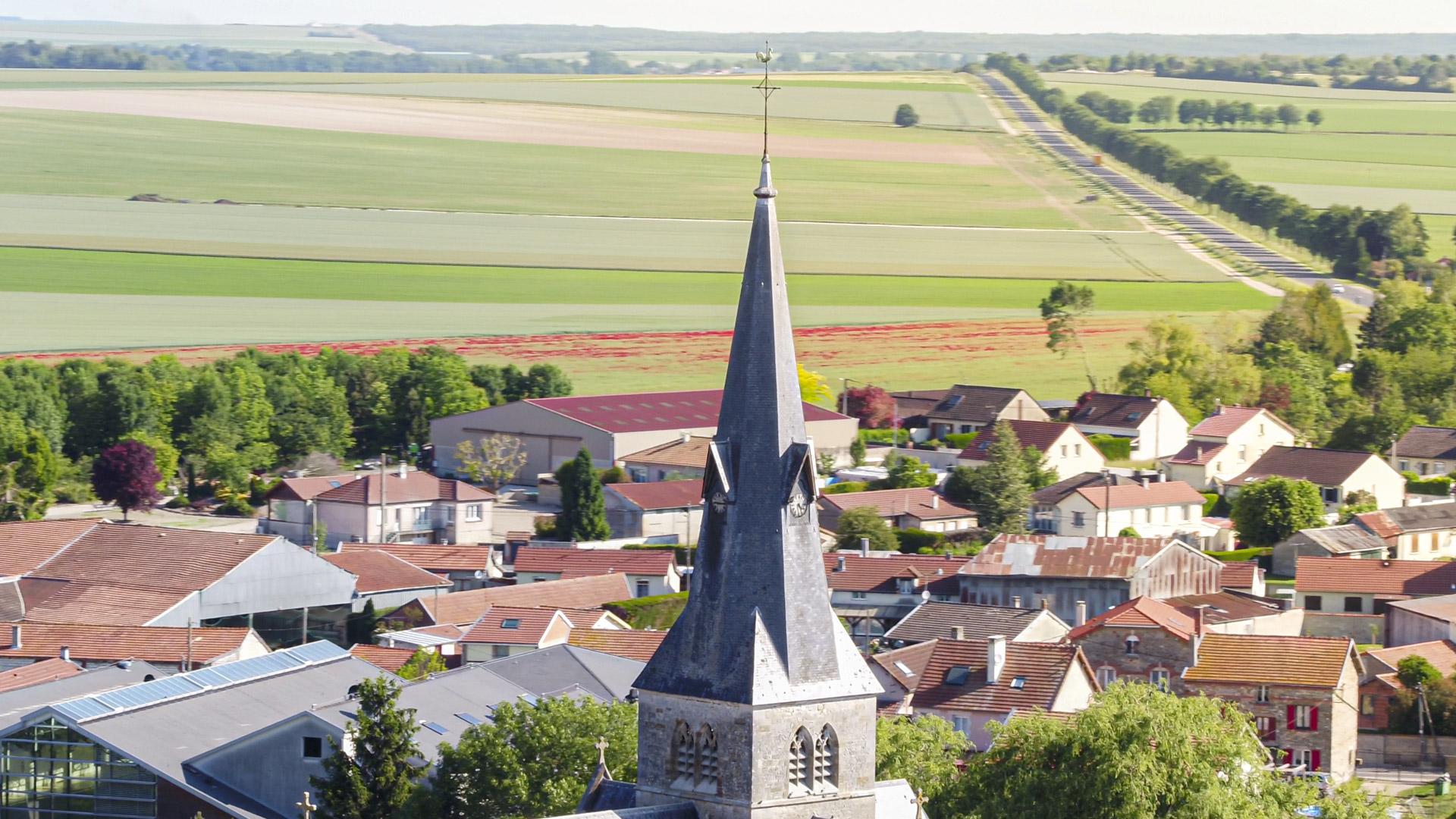 Suippes en image : l'Eglise Saint Martin