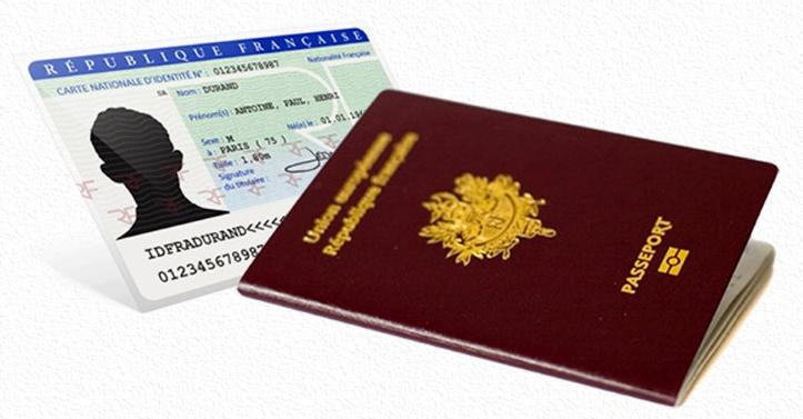 Carte d'identité / passeport